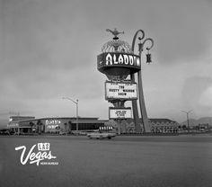 Aladdin Hotel January 4, 1966 #ThrowbackThursday #tbt