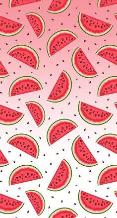 Wallpaper fofos femininos melancia ideas for 2019 Tumblr Wallpaper, Food Wallpaper, Cute Wallpaper Backgrounds, Trendy Wallpaper, Wallpaper Iphone Cute, New Wallpaper, Pattern Wallpaper, Cute Wallpapers, Interesting Wallpapers