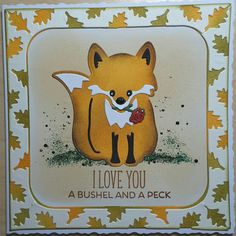 Dutch the fox and fancy seasons frame edges both by #karenburniston.com