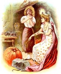 She brought a big pumpkin from the garden, two fine rats, six mice and six lizards.