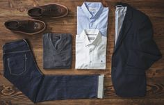 The bare essentials to the classic look