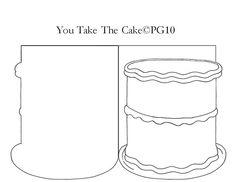 Cake card template I made