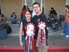 Homecoming Mum and Garter