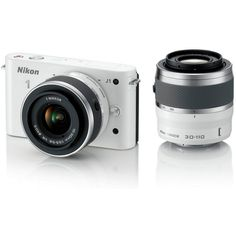 Nikon 1 J1 Compact System Camera with 10-30mm and: Amazon.co.uk: Camera & Photo