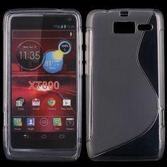 S-Line Transparent (Grå) Motorola RAZR i Deksel
