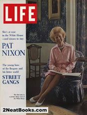 Pat Nixon  life magazine cover: 25 Aug 1972
