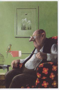 Pinzellades al món: Humor en les il·lustracions de Gerhard Glück