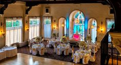 Dino's Catering at Pine Ridge Country Club » Weddings -- gorgeous high ceilings with exposed beams (!), close to Mentor