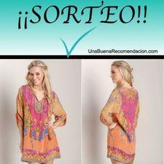 SORTEO INTERNACIONAL: VESTIDO PLAYERO VINTAGE FLORAL