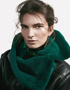 L'Officiel Ukraine ✪ Nouk @ Elite Model Management Amsterdam … styling by Katharina Klug ☛ Stephane Glathe.