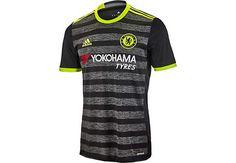 adidas Chelsea Away Jersey - 2016 Chelsea Soccer Jerseys Chelsea Soccer, Chelsea Fc, Chelsea Shirt, Soccer Gear, Soccer Jerseys, Jersey Atletico Madrid, Adidas Kids, Premier League, T Shirts