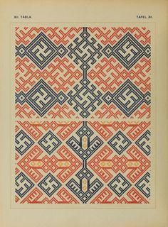 Osztyák himzések = Ostjakische Stickereien - Ostyak embroidery - Magyar Nemzeti Múzeum - 1921  (36 of 86)