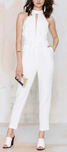 Cameo Breaking Hearts Cutout Jumpsuit