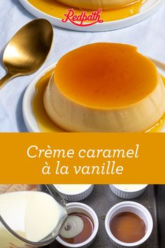Vanillecreme Karamell - Puddings, Custards and Mousses - Creme Caramel, Köstliche Desserts, Dessert Recipes, Brulee Recipe, Baking Recipes, Mousse, Sweet Tooth, Sweet Treats, Food And Drink