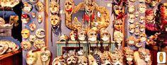 Casin dei Nobili - Venezia: Maschere tradizionali per il carnevale veneziano. (Clicca sulla foto per aprire il tour virtuale)
