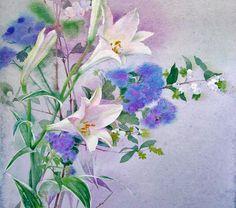 Watercolor by Yu Hoshino