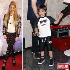 Shakira presentó anoche su nuevo disco 'El Dorado' en Barcelona y contó entre el público con dos personas muy especiales: sus hijos, Milan y Sasha.  #shakira #milanpique #eldorado #musica #barcelona #disco