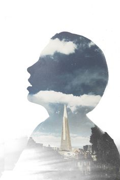 """FUSED DOUBLE EXPOSURE APP  This image was created using the content library in the app's """"Artists Collection"""" to fuse two pictures together. San Francisco–based photographer and filmmaker Mindrite created this image."""