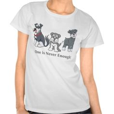 Attention: Multiple Schnauzer Lovers Tees