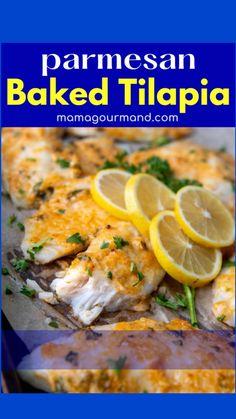 Tilapia Recipes, Fish Recipes, Vegetable Recipes, Seafood Recipes, Beef Recipes, Yummy Recipes, Yummy Food, Healthy Recipes, Pork Recipes For Dinner