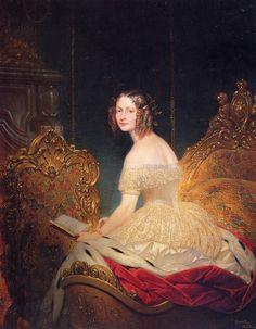 Ritratto della granduchessa Elena Pavlovna. 1842