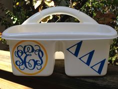 PERSONALIZED Shower Caddy for your Soroity by MonogramCollection, $16.00