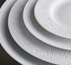 #lobjet Han White #Dinnerware
