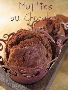 .Muffins au Chocolat lait ribot
