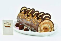 rulada-cu-crema-de-cicolata-145-1 mod Sausage, Sweets, Meat, Food, Gummi Candy, Sausages, Candy, Essen, Goodies