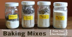 Make your own baking mixes with this simple method that let's you turn a favorite recipe for quick bread cookies or bars into an easy homemade baking mix New Recipes, Sweet Recipes, Cooking Recipes, Favorite Recipes, Homemade Cake Mixes, Homemade Muffins, French Press Coffee Maker, Blueberry Bread, Cold Brew Coffee Maker