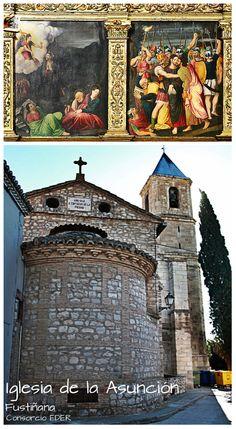 Las huellas de las Hospitalarias de San Juan de Jerusalen, en Fustiñana. Iglesia de la Asunción