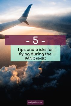 Tips and tricks to keep you safe while travelling during the Pandemic.