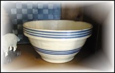 old bowls are to be treasured especially if they show signs of loving use