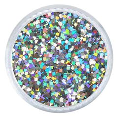 Largest selection of square glitter anywhere! Bulk Glitter, Holographic Glitter, Gel Polish, Pretty Nails, Iridescent, Nail Art, Jewels, Silver, Tumblers