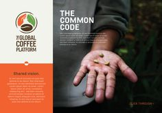 The proposed logo for the 4C Association rebranding focused on the crucial balance between three core elements involved in coffee production. The coffee bean (main commodity), the leaf (nature and sustainability), and the hand (farmer and stakeholder). Unifying these elements in a circle communicates a sense of continuity and sustainable balance. In addition to this, the circular shape hints towards the global theme.The orange, brown and green colours have been carried over from the…