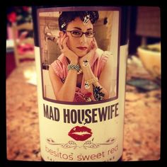 """What my mom comes home with..."" #wine"