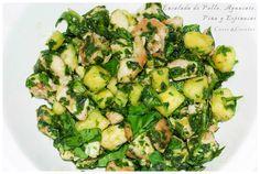 EPAPE Fresco, My Recipes, Sprouts, Salads, Vegetables, Food, Salad Chicken, Avocado, Healthy Recipes