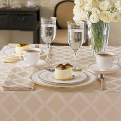 Our best selling Laurel Leaf tablelinens by Lenox are generously ov...
