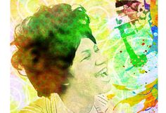 Aretha Franklin Queen of Soul Soul-Musik von PoolPartyPopArt