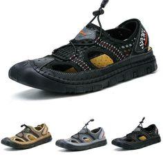 71c4a23d48 (Ad)eBay - Men's Mesh Breathable Slip on Sandals Non-slip Outdoor Hiking