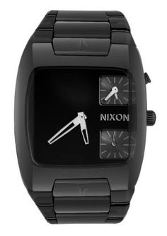 Nixon Banks Watch - Men's All Black, One Size NIXON. Save 38 Off!. $273.25. Dial color: black. Brand:Nixon. Condition:brand new with tags. Band color: black. Model: A060001