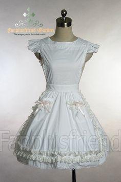 fanplusfriend - Casual Lolita Alice Apron, $22.66 (http://www.fanplusfriend.com/casual-lolita-alice-apron/)