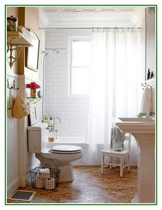 Great share Small Bathroom Remodel With White Curtains On A Budget
