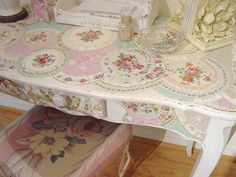 Large mosaic Desk | Flickr - Photo Sharing!