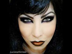 Maquiagem para o Halloween 2013, por Lu Ferraes