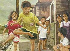 "Filipino Games: Sipa (""Sepak Takraw"")"