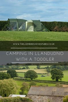 A weekend camping in Llandudno. Our first family camping trip. Come and read about the fantastic site we stayed on with out toddler.