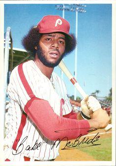 Bake McBride Phillies Baseball, Baseball Uniforms, Better Baseball, Sports Baseball, Funny Baseball, Baseball Videos, Baseball Photos, Baseball Cards, Best Baseball Player