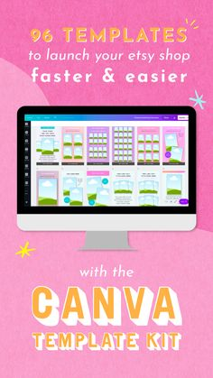 Are you ready to make money, save time, and build an Etsy shop that you're proud of? The Canva Template Kit is designed specifically for people who want to start and build a business selling planners on Etsy…without the huge graphic design learning curve! Student Planner Printable, Planner Template, Advertising Services, Marketing And Advertising, Life Binder, Life Planner, Branding, Planner Organization, Planner Stickers