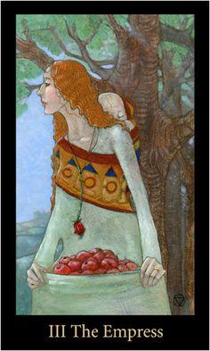 Lá The Empress– Bộ Bài Mary-el Tarot bài tarot